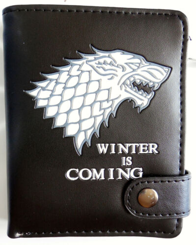 Small Game of Thrones wallet purse 12 card slots coin pocket zipped pocket