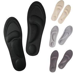DIY-Einlegesohlen-Memory-Schaum-Einlagen-Fussbett-Schuheinlagen-Fersensporn-Sohle