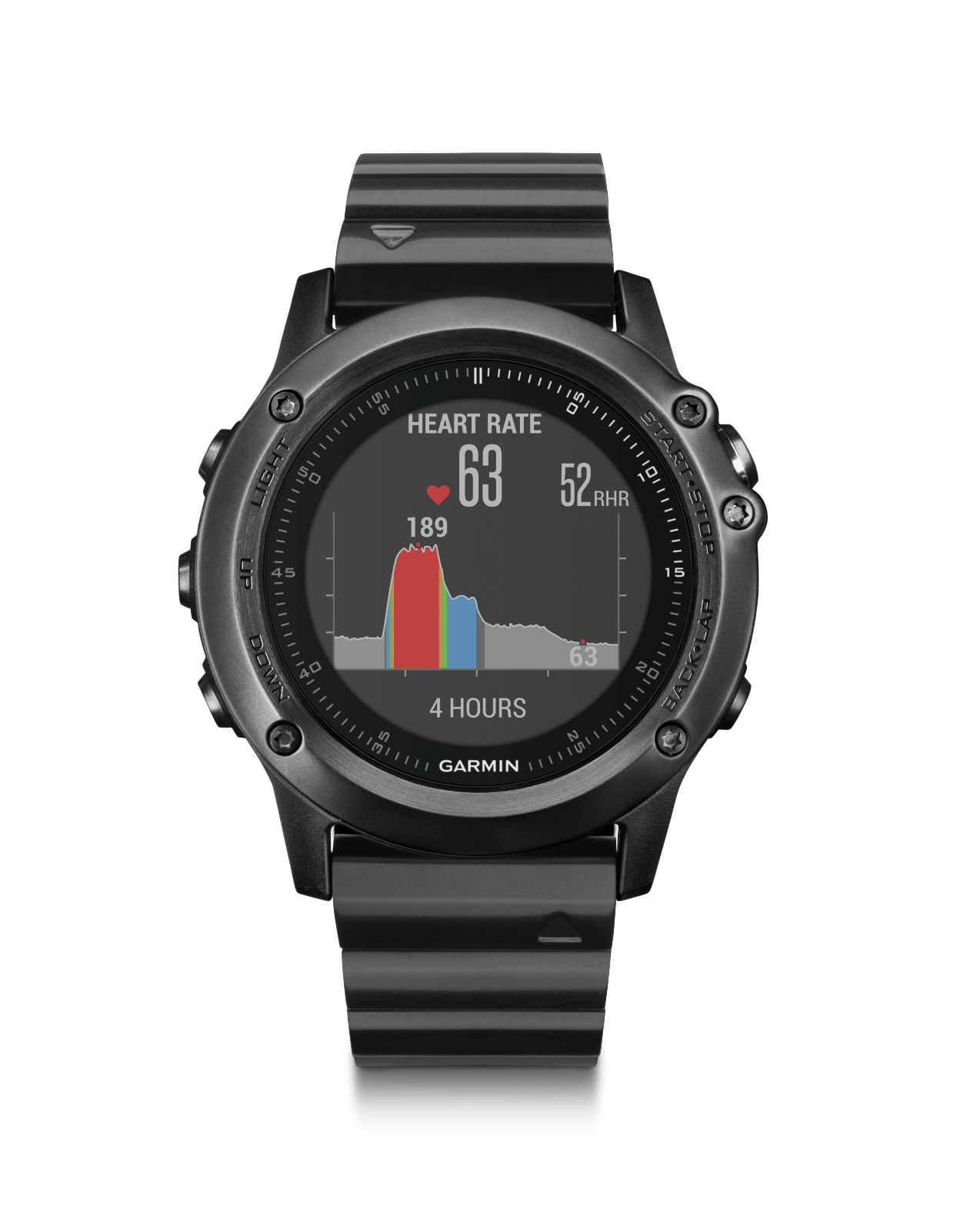 Garmin Fenix Fenix Garmin 3 HR Titanium GPS Watch | 010-01338-7B | AUTHORIZED GARMIN DEALER b30b6e