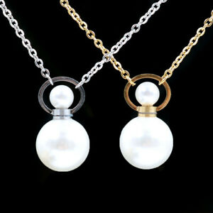 Natural-Pearl-Crystal-Necklace-Perfume-Bottle-Pendant-Healing-Reiki-Mineral-DIY