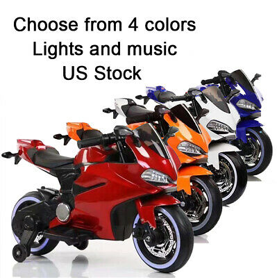 Kids Ride On Motorcycle Electric Bike Toys for Boys Girls ...