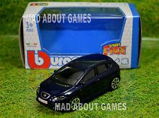 SEAT LEON CUPRA 1:43 Blue Car NEW Model Metal Diecast Models Cars Die Cast