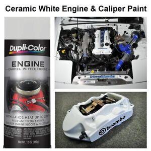 white coating spray engine enamel blocks brake rotor caliper paint high temp ebay