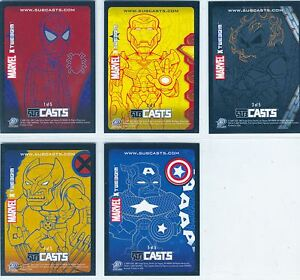 Marvel-Masterpieces-2007-Complete-Subcast-Chase-Card-1-5