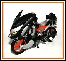 Power Rangers Jungle Fury _ Black Bat Ranger Strike Rider Motorcycle