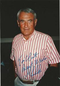 Gill-Clancy-1922-2011-Boxing-Commentator-Trainer-Autographed-4x6-034-Photo