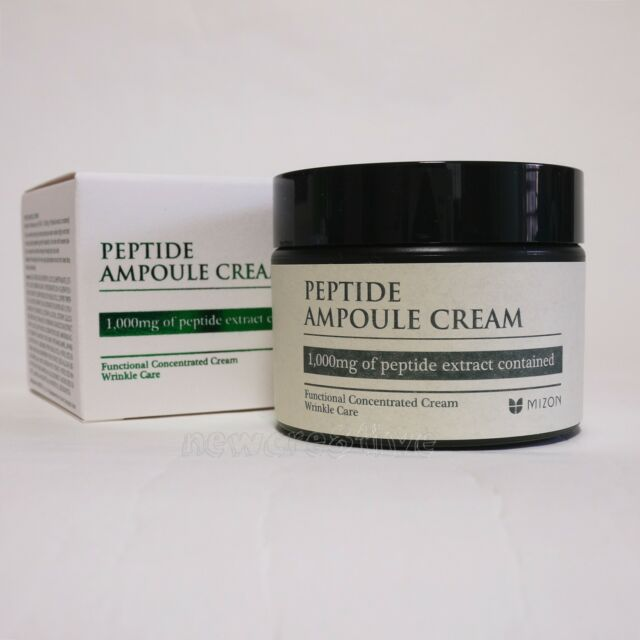 MIZON Peptide Ampoule Cream 50ml Anti-Wrinkle Lifting Moisturizing