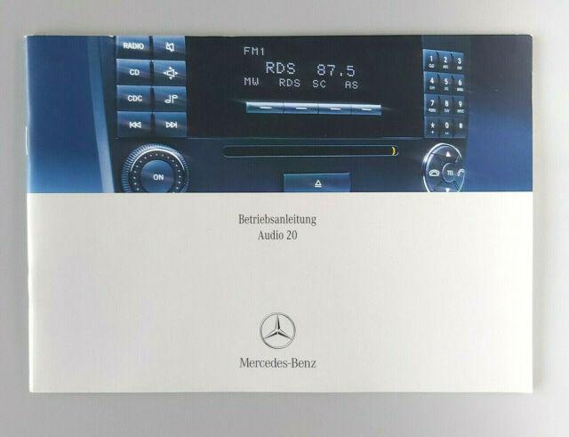 MERCEDES   AUDIO   20   Zusatzanleitung  172   2014    Betriebsanleitung    RN