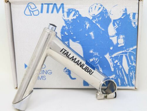 "NOS ITM ECLYPSE VINTAGE 90s QUILL STEM 1/"" INCH CLAMP 25,4mm 130mm ROAD BIKE OLD"