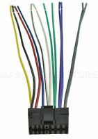 Wire Harness For Jvc Kd-g220 Kdg220 Pay Today Ships Today