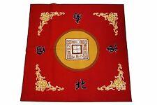 Mahjong / Paigow / Card / Game Table Cover Mah jongg Mahjongg Mat Red