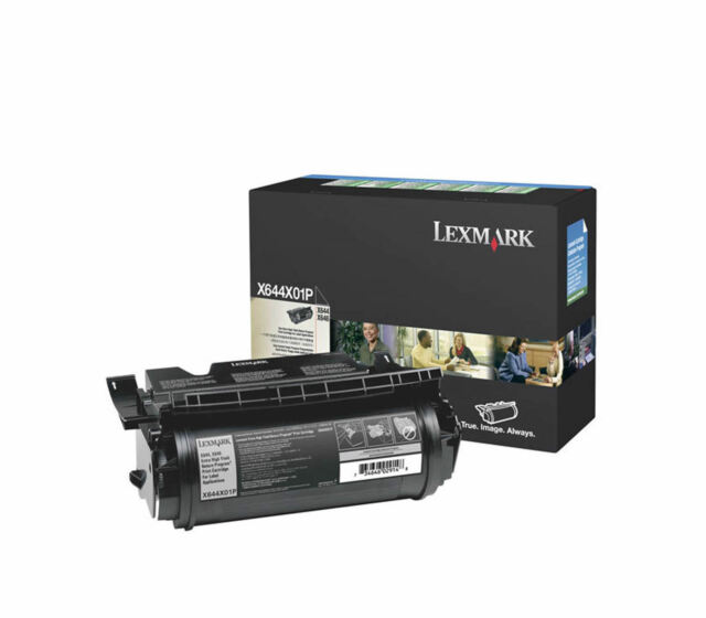 Genuine Lexmark X644X01P Extra HY 32K Toner Cartridge X646dte X644ef X646 X644