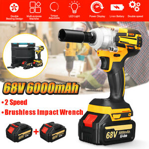 68V-Impact-Wrench-6000mAh-2-Speed-Cordless-Li-Ion-Brushless-Motor-2-Battery