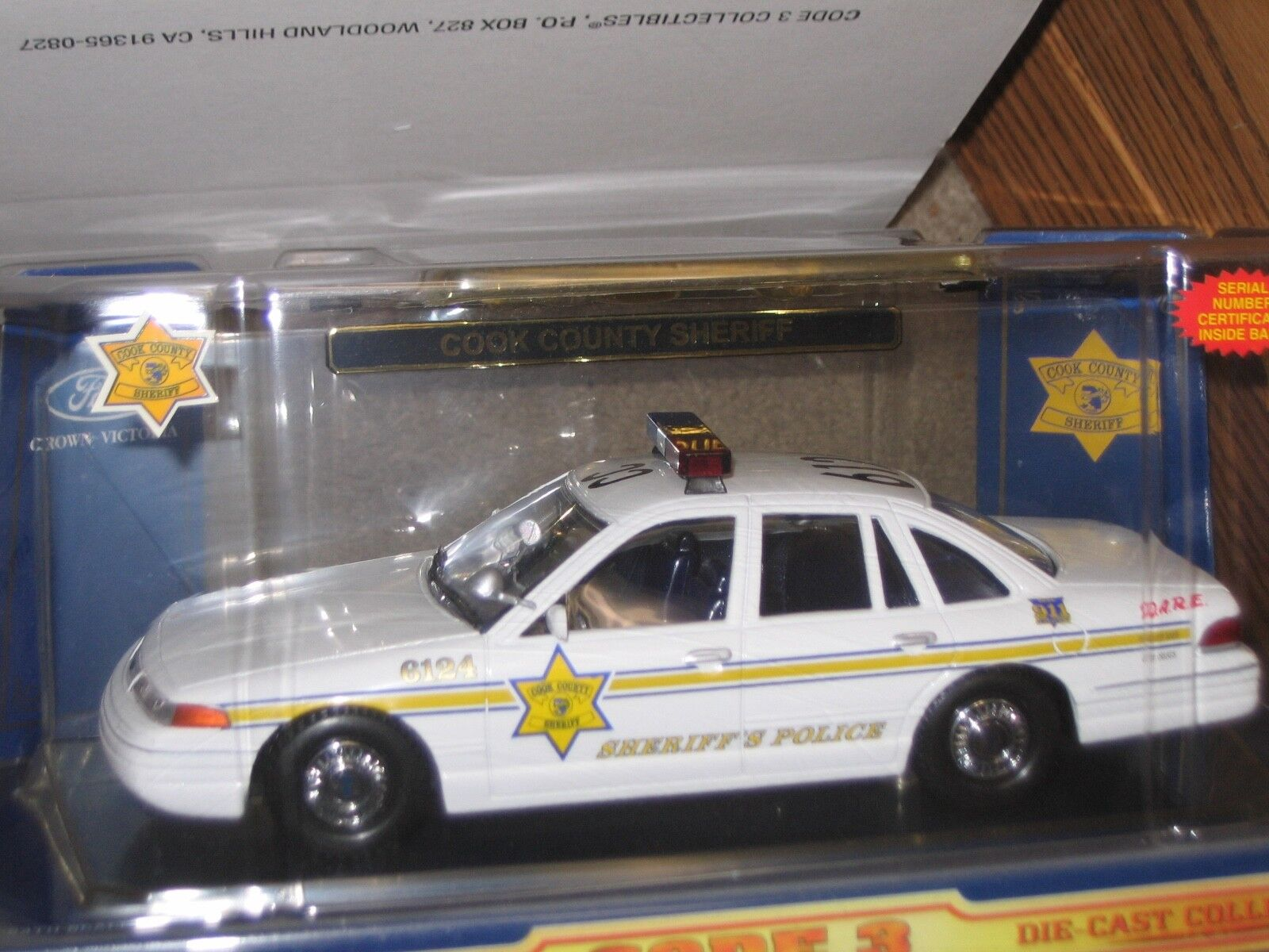Code 3 Cook County County County Sheriff's Ford Crown Victoria ef94d0