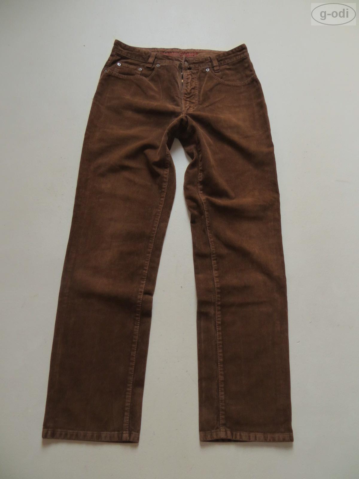 JOKER Jeans Harlem Walker Cordhose W 34  L 34 Braun Hochwertig & Robust RAR