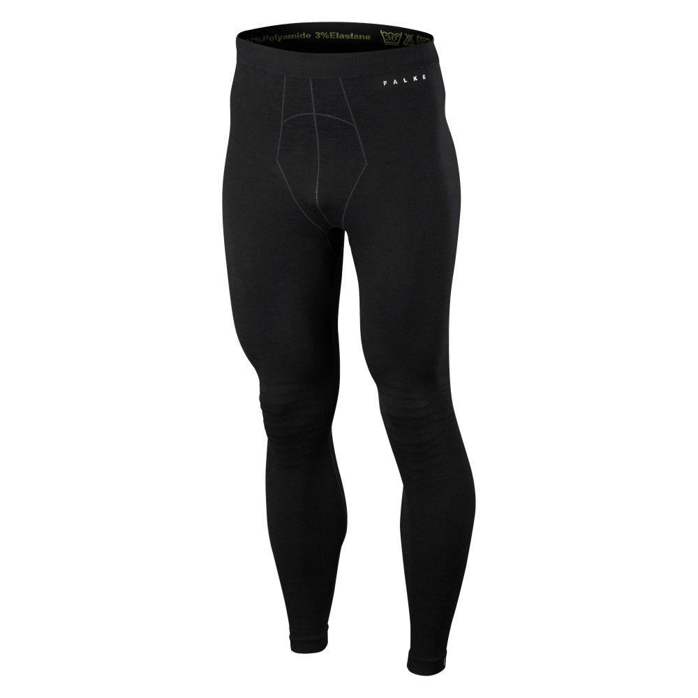 FALKE Leggings Merino Long Tights schwarz