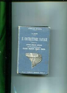 MANUALI-HOEPLI-G-ROSSI-IL-COSTRUTTORE-NAVALE-1915-TAVOLE-e-INCISIONI-PAGINE-814