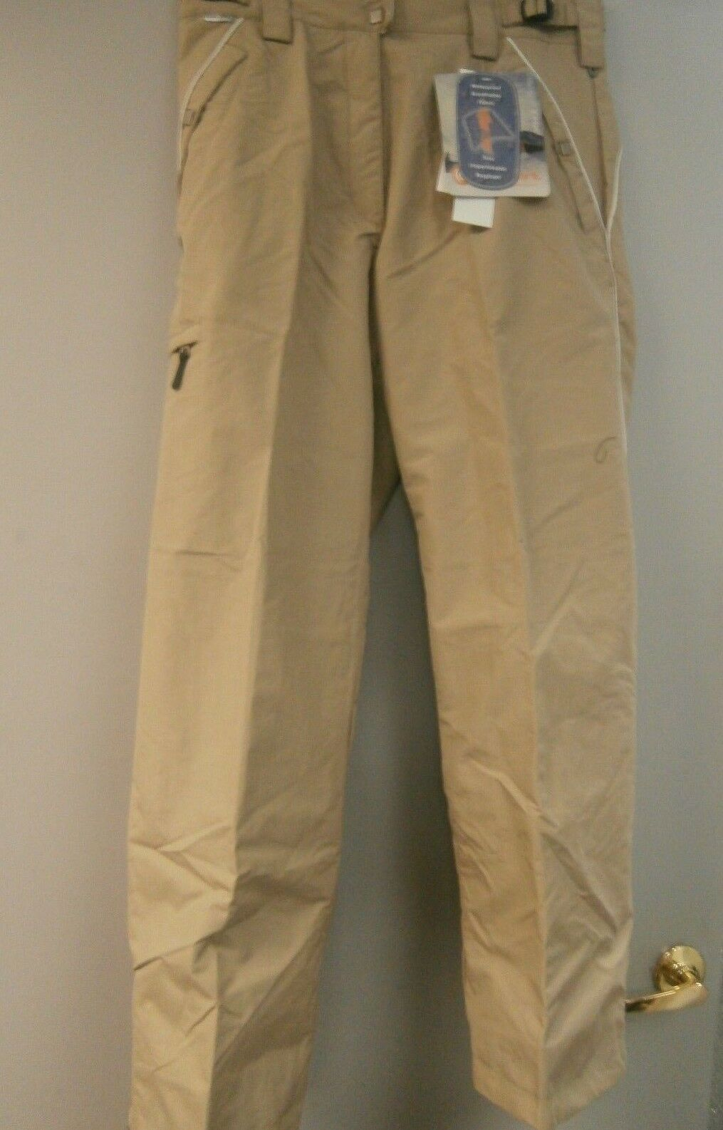 Columbia Women's Congreen Ski Pants  Beige Size Medium New     free shipping worldwide