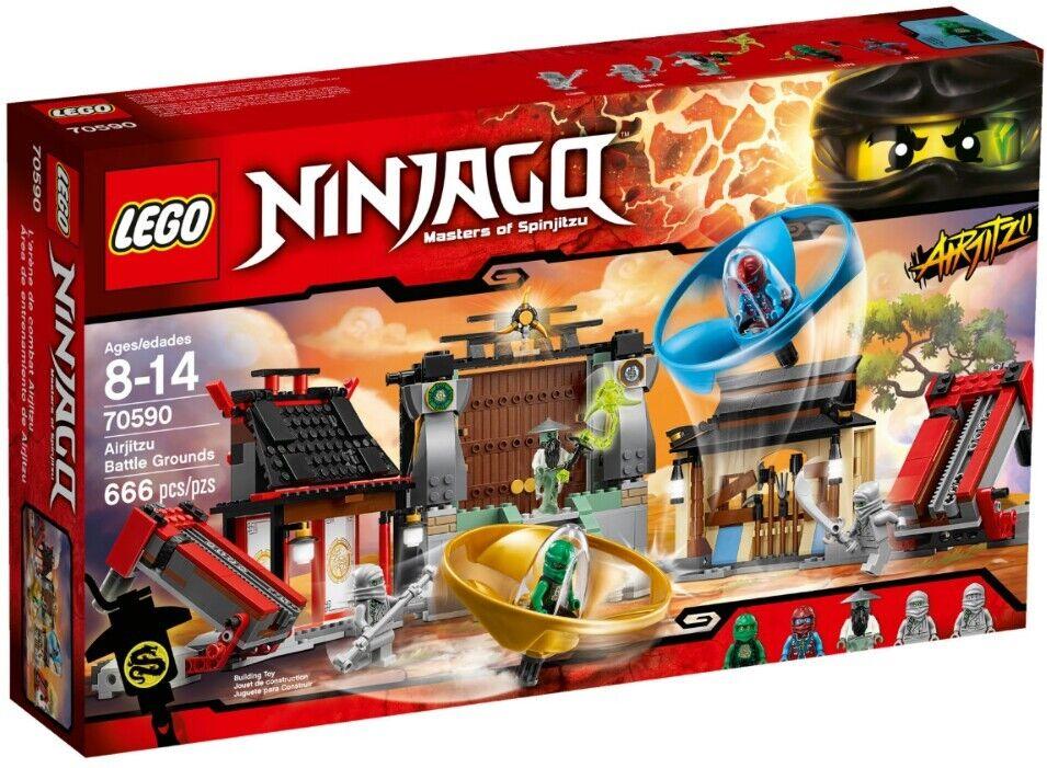 NOUVEAU  LEGO 70590 Ninjago Masters of Spinjitsu  RARE RETIrouge Set