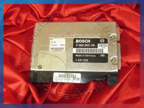 BMW E34 5 series 2.5i 2.5ix M50 Engine TRANSMISSION CONTROL UNIT EGS TCU 1421012