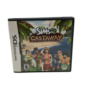 The Sims 2: Castaway (Nintendo DS, 2007) Complete