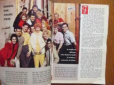 1959 TV Guide(LUCILLE  BALL/LEILA CROFT/VALERIE CROFT/THE CROFT TWINS/JOHN PAYNE