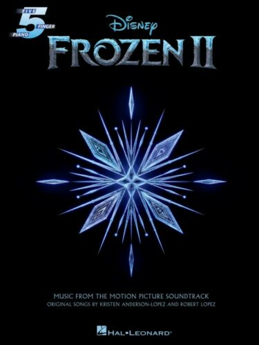 Frozen 2 Five-Finger Piano Songbook from Movie Soundtrack Five Finger 000329705