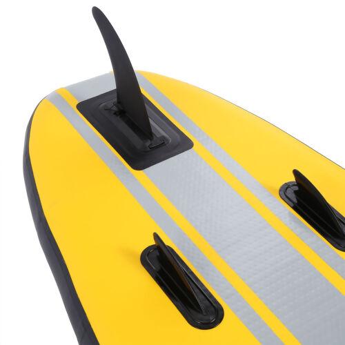 SUP XL Board Stand Up Paddle Surf-Board aufblasbar mit Paddel ISUP 330 cm 150 kg