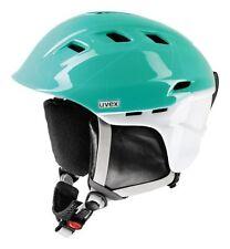 UVEX COMANCHE 2 pure turquise-white 51-55 Skihelm Snowboard Ski Helm N4