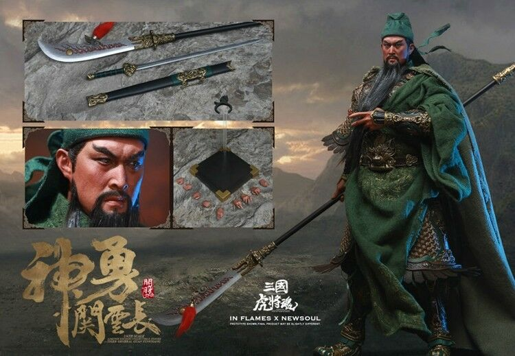 1 6 INFLAMES TOYS IFT-031 Three Kingdoms Series Guan Yu 2.0 Action Figure