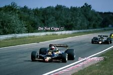 Mario Andretti JPS Lotus 79 Winner Dutch Grand Prix 1978 Photograph