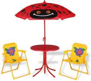 Tavolo Da Campeggio Con Sedie.Tavolo Da Giardino Con Parasole Per Bambini Tavolo Mare Campeggio