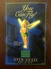 """WDCC Disney Post Card 4"""" x 6"""" Tinkerbell You Can Fly!"""