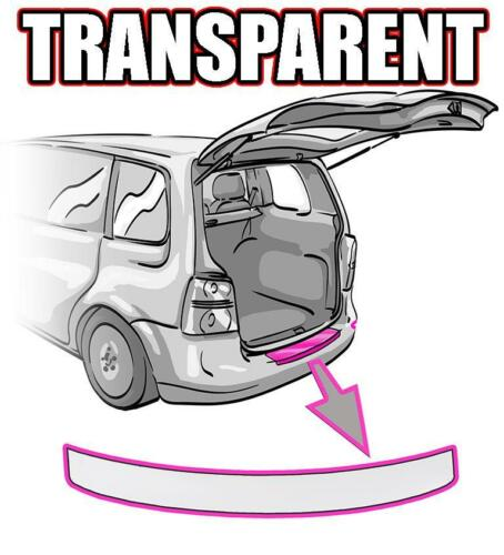 VW BORA Ladekantenschutz Variant Kombi 1J TRANSPARENT ORACAL©