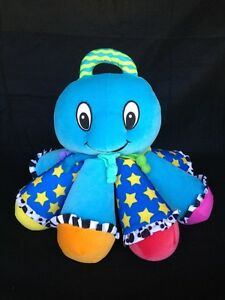 Lamaze Octopus Musical Plush Baby Toy Beach Tropical Multi