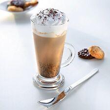 3 piezas de vidrio de latte Té Café Cappuccino tazas tazas de bebida caliente gafas de alta calidad