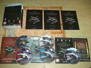 THE-WITCHER-1-Pc-DVD-Rom-Original-BOXED-Enhanced-Edition-Fast-Dispatch