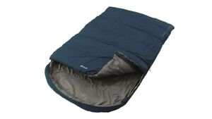 Outwell-Campion-Lux-Blue-Sleeping-Bag-DOUBLE-3-Season-Luxury-Camping
