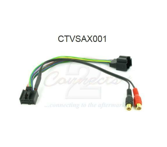 Connects2 CTVSAX001 Aux Input MP3 iPod iPhone Saab 9-5 9.5 2006 on