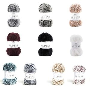 Sirdar-Alpine-Luxe-Fur-Effect-Knitting-Yarn-Knit-Craft-50g-Ball-Wool