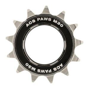 FreeWheel 18t BMX ACS Paws Single Speed Bike Gear Black//Nickel
