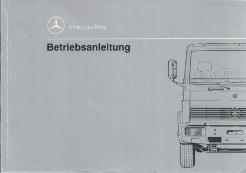 CAMION MERCEDES 673 manuale di istruzioni 1995 manuale libro di bordo manuale BA