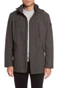TUMI-F77123-Men-Grey-Melange-Softshell-Hooded-Understated-Commuter-Jacket-Coat