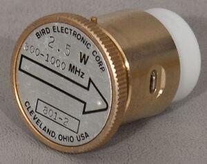 Details about Bird 801-2 2 5 W 800-1000 MHz Wattmeter Slug/Element for 43+  2 5W 1 GHz