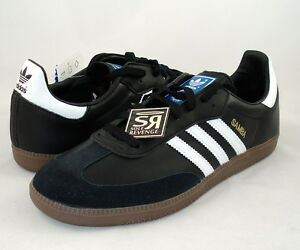 c0cc26f86ac75d New! Adidas Originals Samba Classic Shoes Black G17100 indoor soccer ...