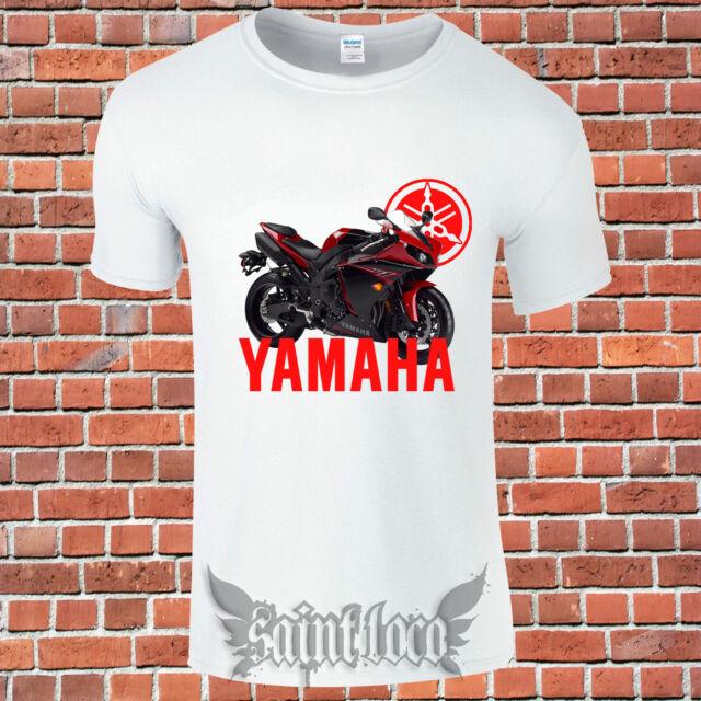 Yamaha T-shirt FZ-10 YZF-R1 MT-10 Maglietta Camiseta motorrad motorcycles Biker