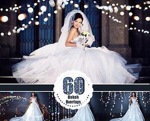 60 magic shine bokeh Photoshop Overlays, sparkles dust effect, Photoshop jpg