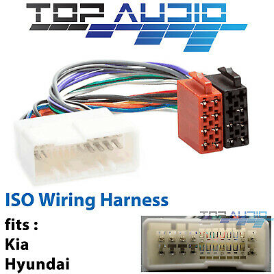 fit Hyundai iLoad ISO wiring harness adaptor cable connector lead loom plug  wire | eBayeBay