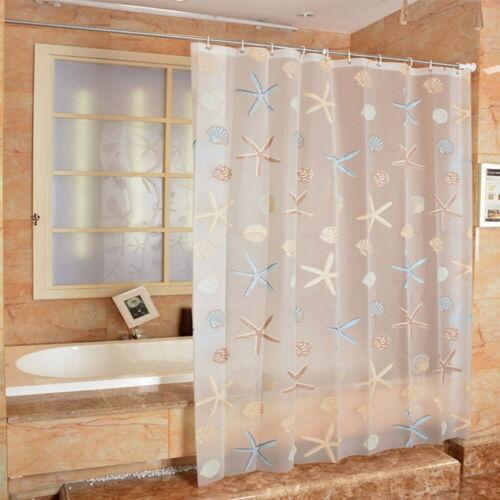 Home Curtain PEVA Bathroom Waterproof Mildew Proof Shower Screen Curtain