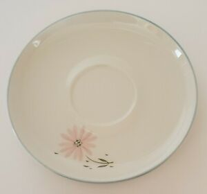 """Franciscan Maytime Saucer Gladding McBean & Co. Pink Daisy Made in USA 5 3/4"""""""